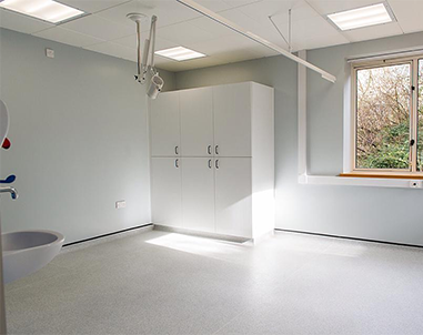 Full electrical design and installation in Northampton for Uppingham Medical Centre