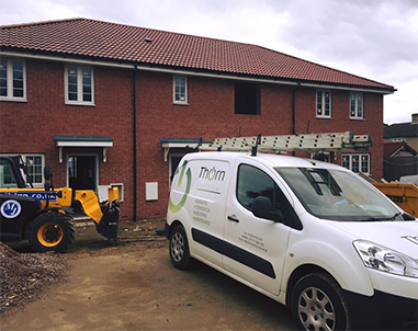 Full electrical installation on property developments